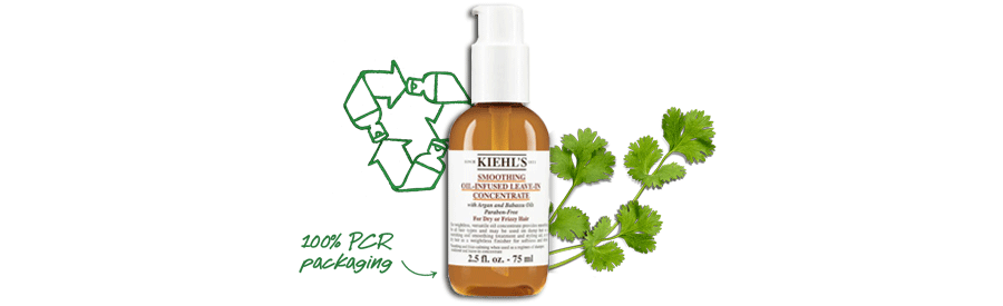 Recycled Packaging used for Kiehl's Liquid Hand Soap